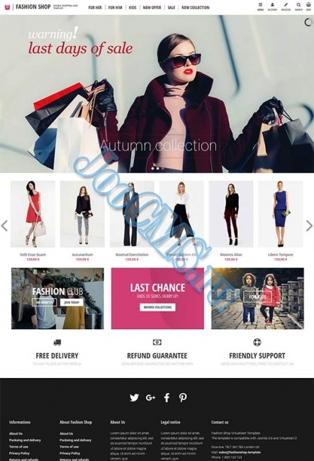 Fashion Shop v.3.8.3