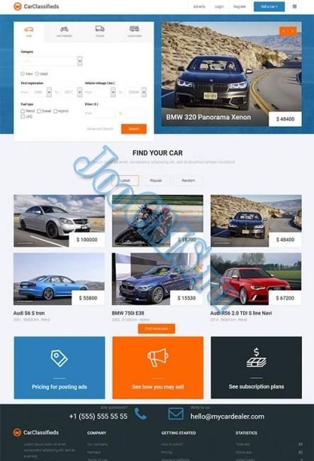JM Car Classifieds v.1.05