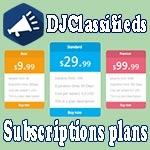 Plans App для DJ-Classifieds v.3.8.0