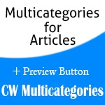 CW Multicategories v.3.9.8.0 & v.4.0.0.3