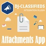 Attachments App DJ-Classifieds v.3.6.4